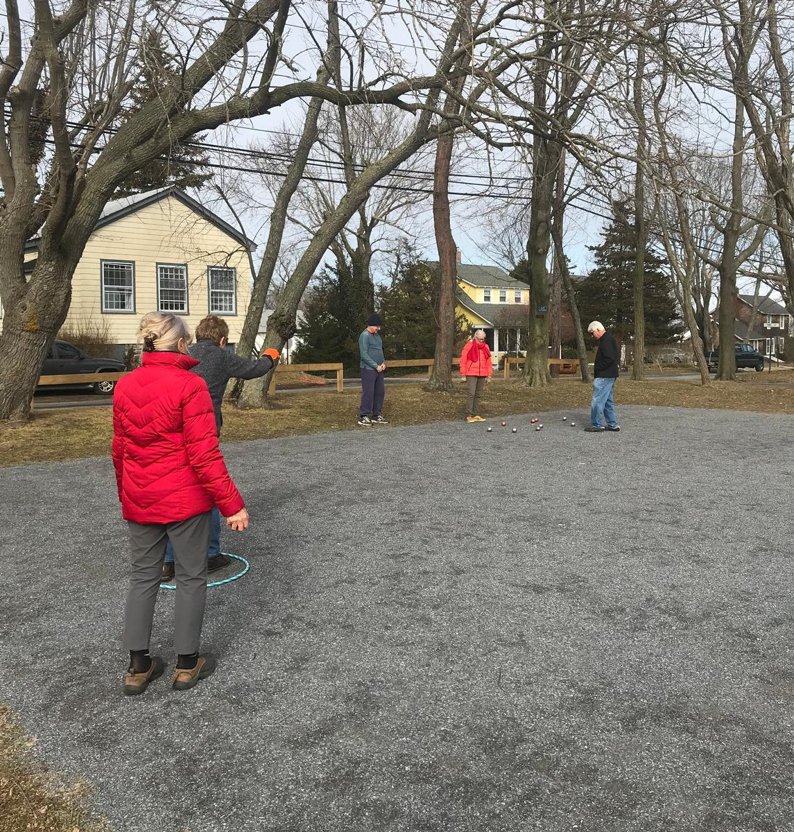 Start of 2018 season for the New Suffolk United Pétanque